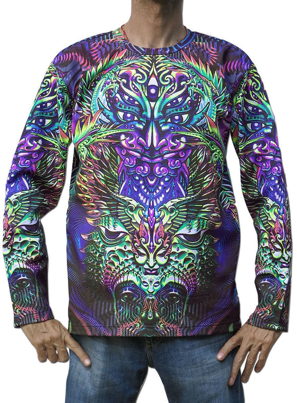 Classic L/S T : Alphabetamine - Men Long Sleeve T's - Space Tribe