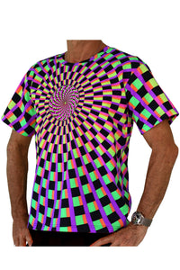 Classic S/S T : Rainbow Vertigo - Men T-Shirts - Space Tribe
