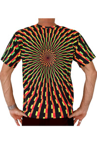 Classic S/S T : Fire Vertigo - Men T-Shirts - Space Tribe