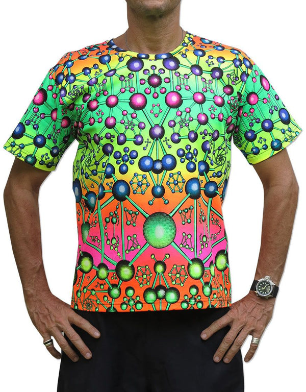 Classic S/S T : Atomic Rainbow - Men T-Shirts - Space Tribe