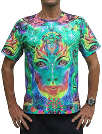 Classic S/S T : Holographic Memory - Men T-Shirts - Space Tribe
