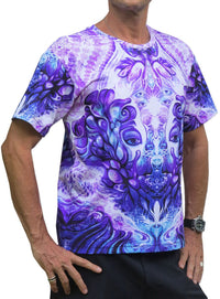 Classic S/S T : Purple Plasm - Men T-Shirts - Space Tribe