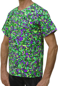 Classic S/S T : Lime Mayan - Men T-Shirts - Space Tribe