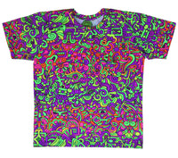 Classic S/S T : Rainbow Mayan - Men T-Shirts - Space Tribe