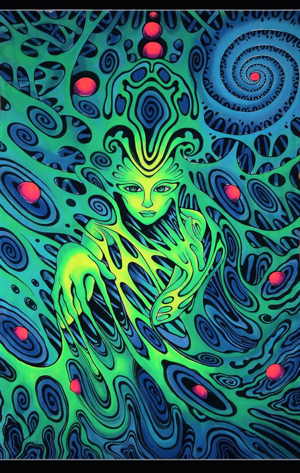 UV Wallhanging : PsySprite - UV Wallhangings - Space Tribe