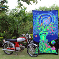 UV Wallhanging : Nature's Embrace - UV Wallhangings - Space Tribe
