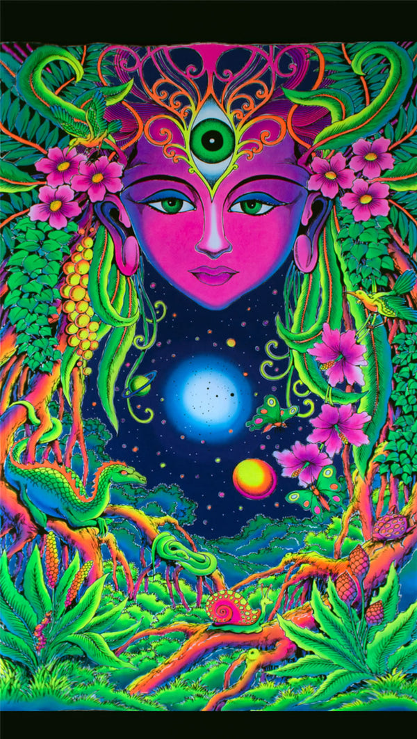 UV Wallhanging : Mother Nature - UV Wallhangings - Space Tribe