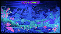 Giant UV Banner : Atlantis - UV Giant Banners - Space Tribe
