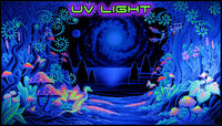 Giant UV Banner : Space Jungle - UV Giant Banners - Space Tribe