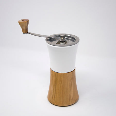 Hario Ceramic Coffee Mill Wood MCW-2