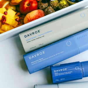 Bring on 2021 with DAVROE Hair Wellness