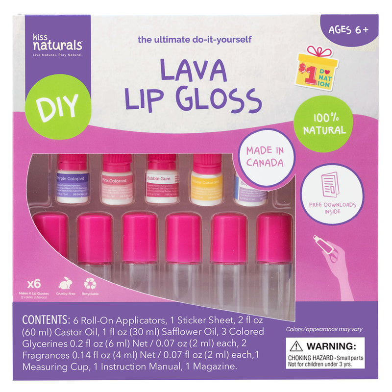 Lava Lip Gloss Kit - DIY