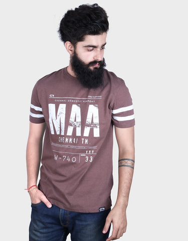 Madras ticket t-shirt by angi clothing