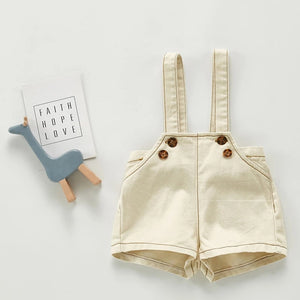GENDER NEUTRAL SUSPENDER OVERALL