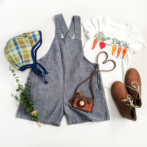 CHAMBRAY OVERALL