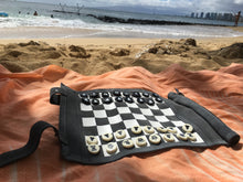Chess & Checkers | Sondergut Roll-Up Travel Game | Free Shipping