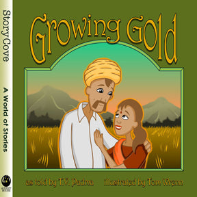 book cover for Growing Gold