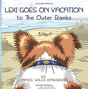book cover for Lexi goes on Vacation to the Outer Banks