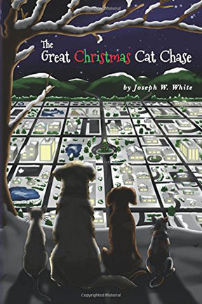 book cover for The Great Christmas Cat Chase