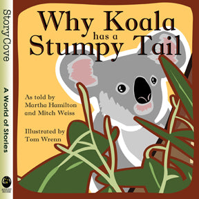 book cover for Why Koala has a Stumpy Tail