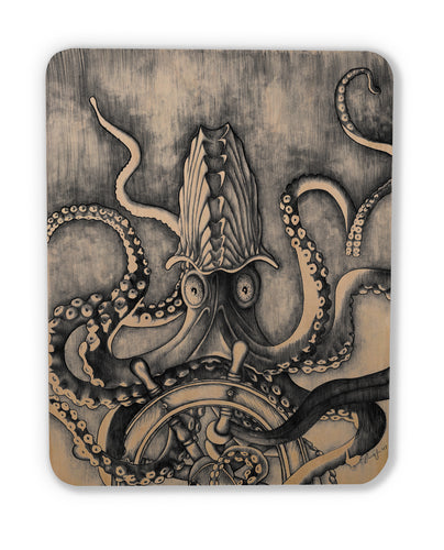 The Argonaut (wood print magnet)