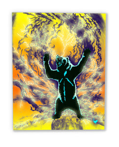 The Spirit Bear (canvas print)