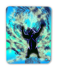 The Spirit Bear (wood print magnet)