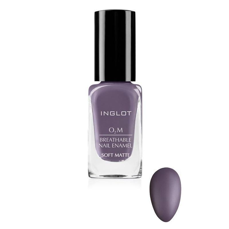 "INGLOT O2M Breathable Nail Enamel ""Soft Matte"" - GetDollied USA"