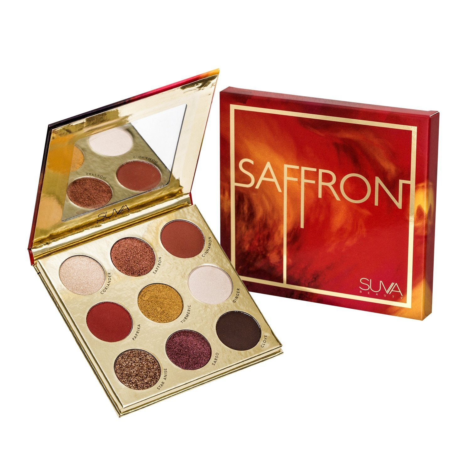 SUVA Beauty Saffron Palette - GetDollied USA