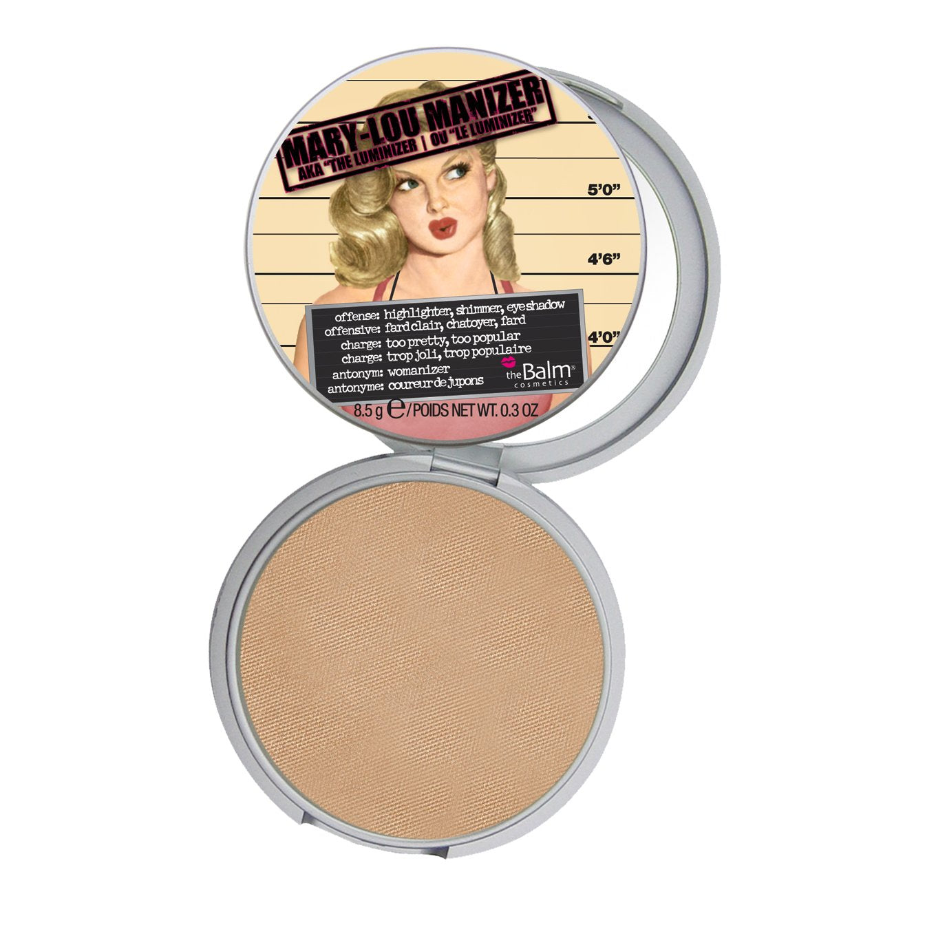 theBalm Cosmetics Mary-Lou Manizer - GetDollied USA