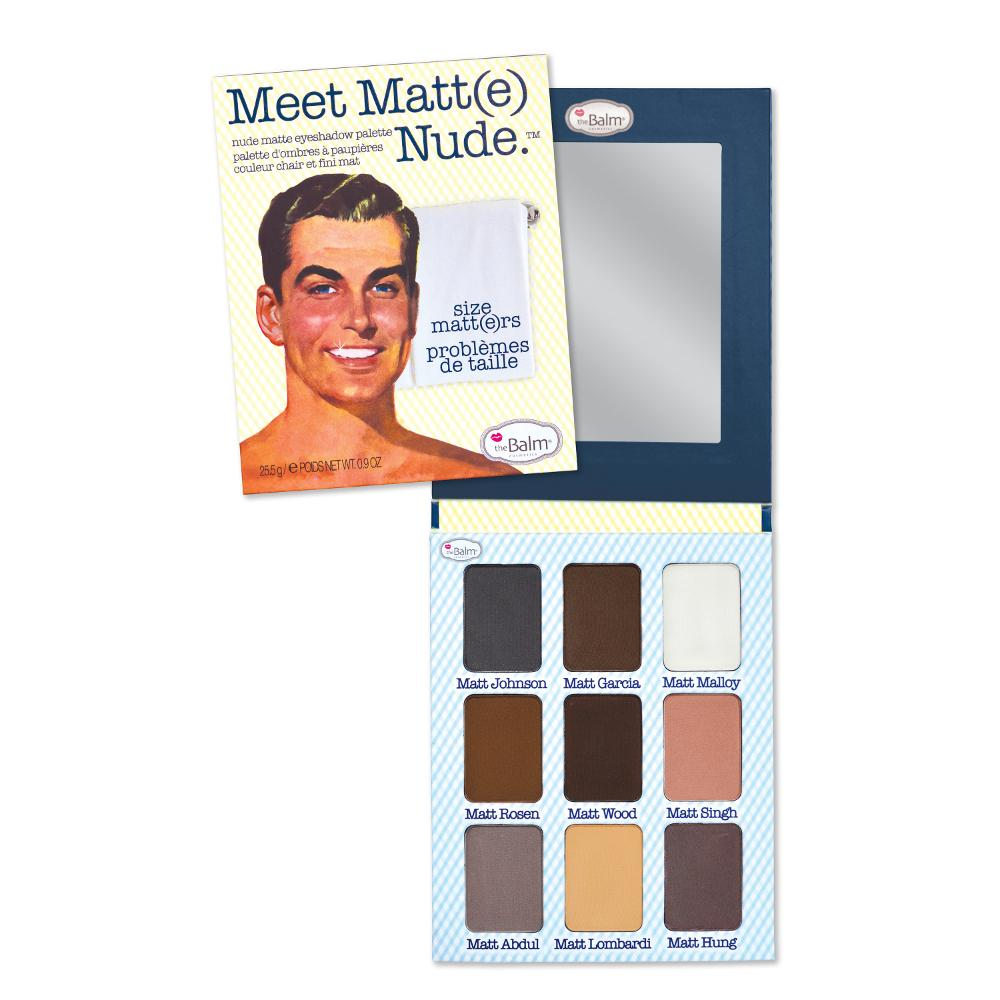 theBalm Cosmetics Meet Matt(e) Nude - GetDollied USA