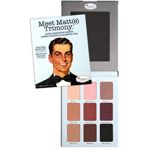 theBalm Cosmetics Meet Matt(e) Trimony - GetDollied USA