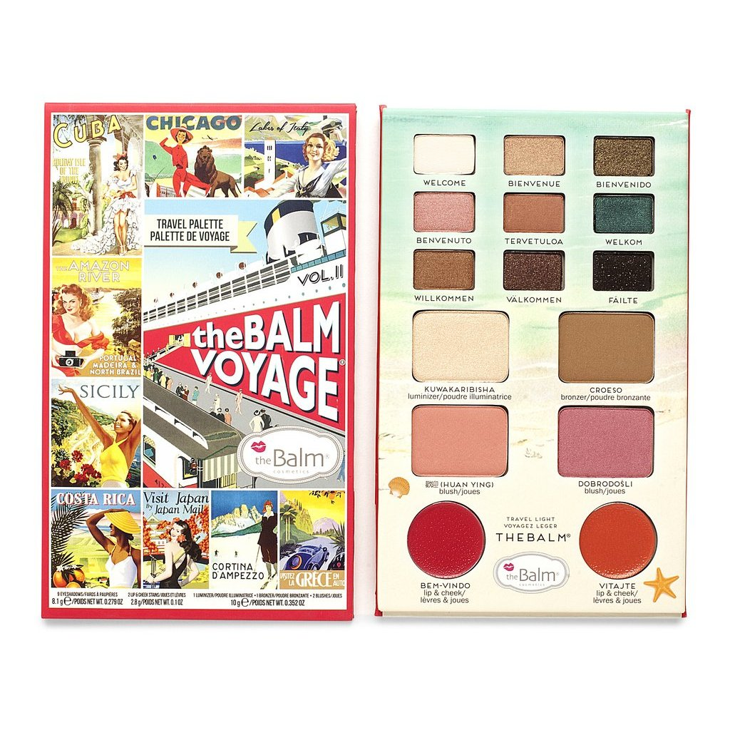 theBalm Cosmetics Balm Voyage Vol. 2 - GetDollied USA