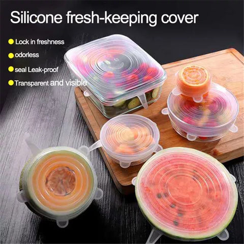 Reusable Silicone Lids (Set of 12)