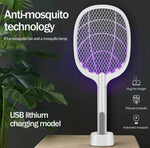 Automatic Electric Swatter & Night Lamp