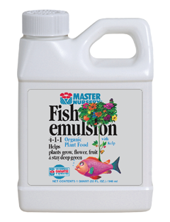 Master Nursery Fish Emulsion 4-1-1