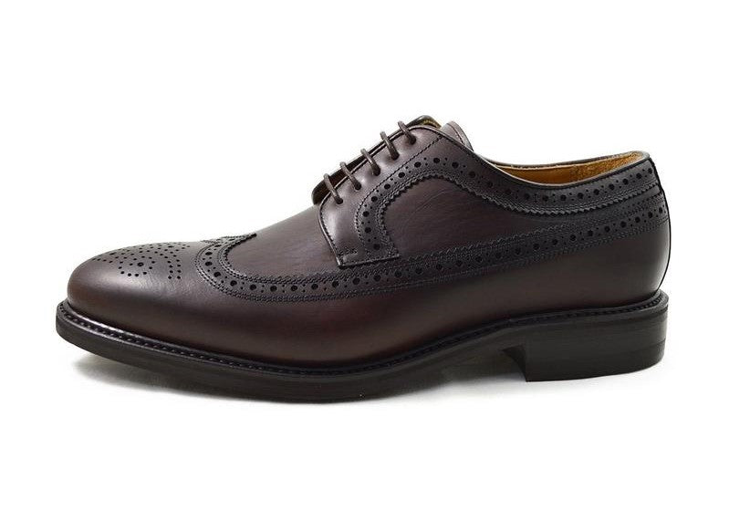Berwick Men's Waxed Leather Brogue Shoes 2562/K1