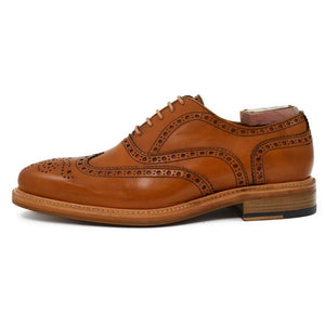 Berwick Men's Oxford Leather Brogue Shoes 2817/K1