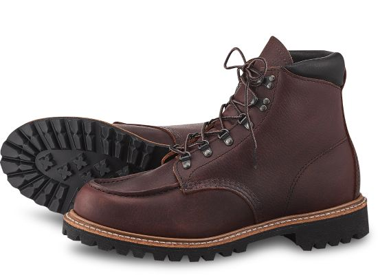 Red Wing Men's Sawmill Leather Lace-Up Boots 2927