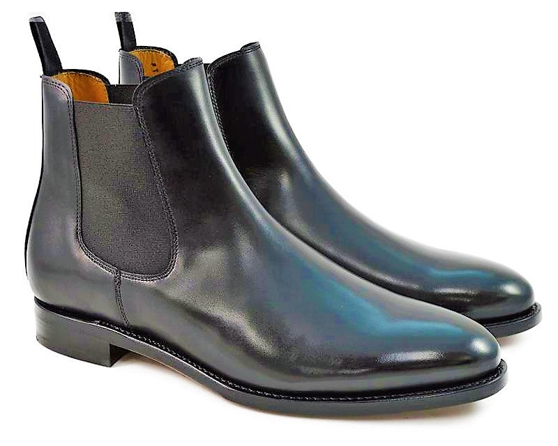 Berwick Men's Chelsea Leather Pull-On Boots 303/K1