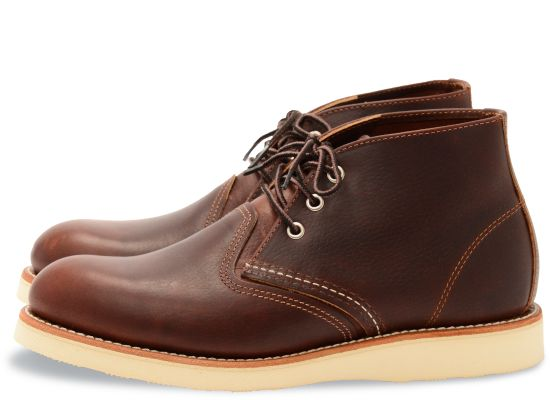 Red Wing Men's Work Chukka Leather Lace-Up Boots 3141