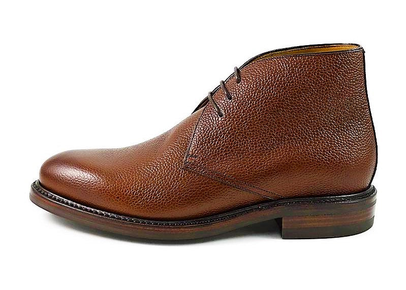 Berwick Men's Chukka Leather Lace-Up Boots 320/K3