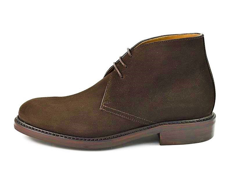 Chukka Suede Lace-Up Boots 320/K4
