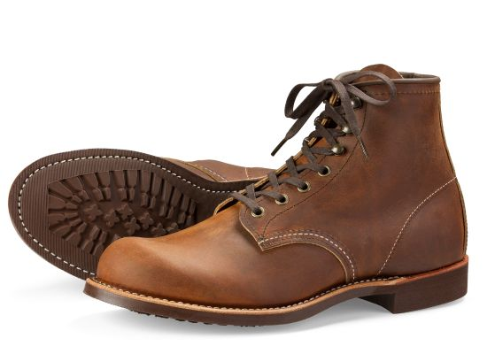 Red Wing Men's Blacksmith Leather Lace-Up Boots 3343