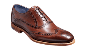 Barker Men's Valiant Leather Brogue Shoes 4178/FW62 - British Shoe Company