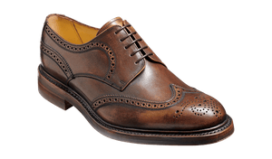 Barker Men's Kelmarsh Leather Brogue Shoes 4250/00 - British Shoe Company