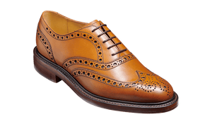 Barker Men's Charles Leather Brogue Shoes 4422
