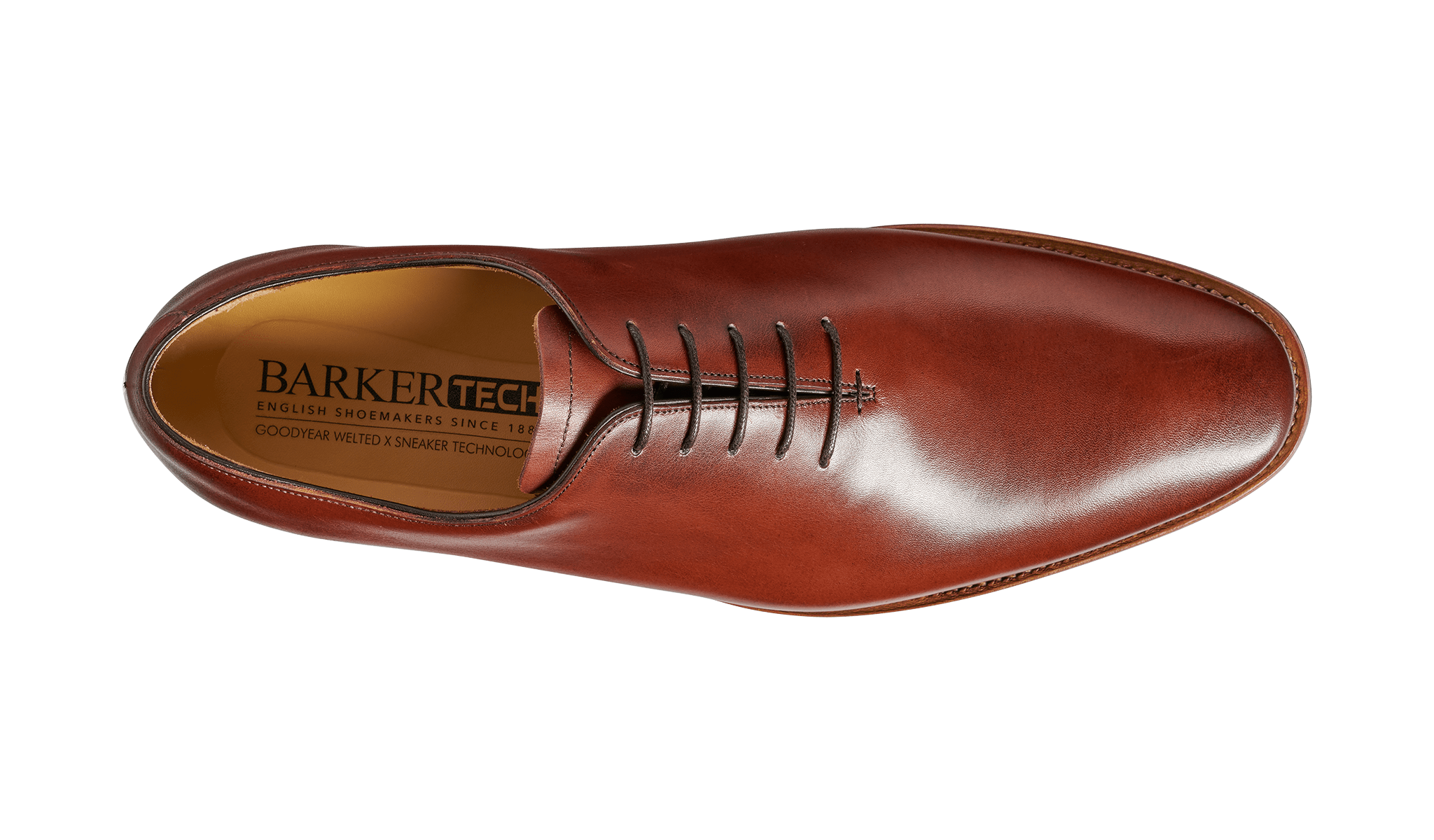Barker Men's Armstrong Leather Oxford Shoes 4501/26