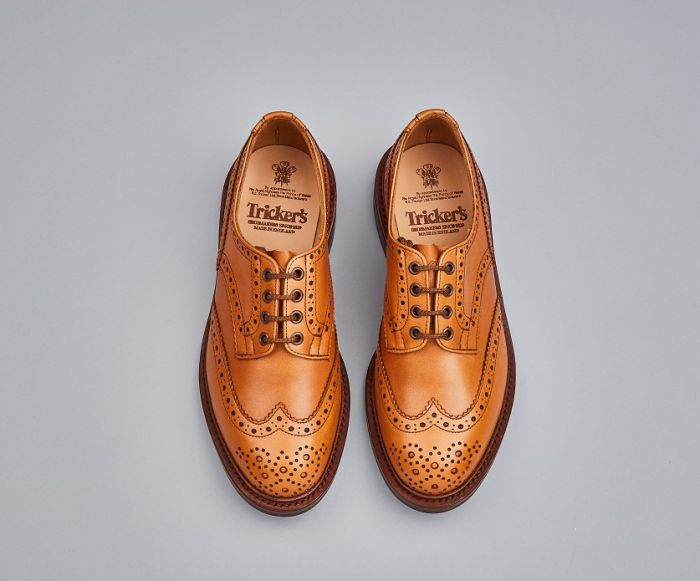Tricker's Men's Bourton Leather Brogue Shoes 5633/4