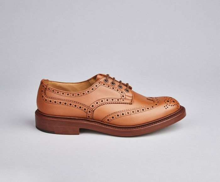 Tricker's Men's Bourton Leather Brogue Shoes 5633/68
